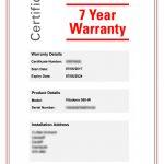 Viessmann boiler warranty