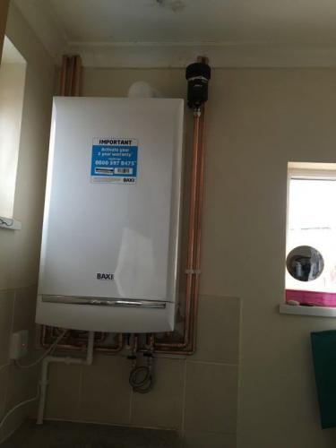Boiler photo stock Baxi