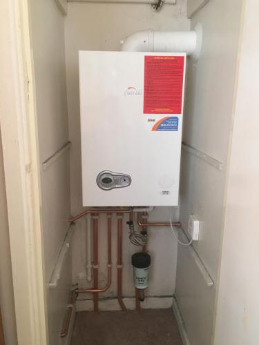 Boiler Installation Photo